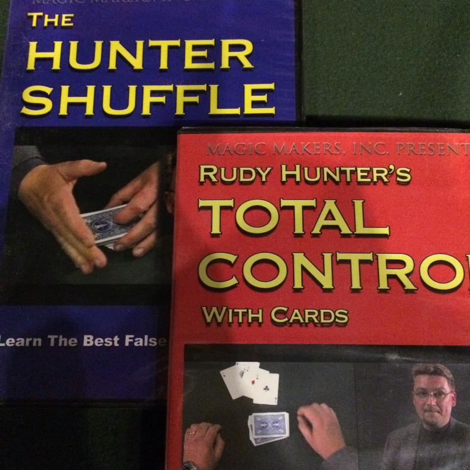 THE HUNTER SHUFFLE DVD - TOTAL CONTROL DVD