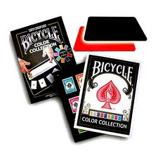 Bicycle Color Collection (9 Decks, 2 Close Up Pads)