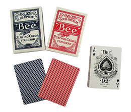 Bee Deck - Poker size Diamond Back