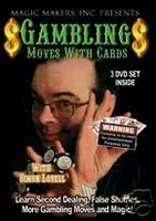 Gambling Moves w/ Cards featuring Simon Lovell (3 DVDs)