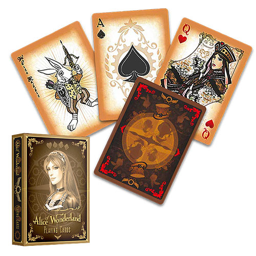 Alice Of Wonderland deck - Gold