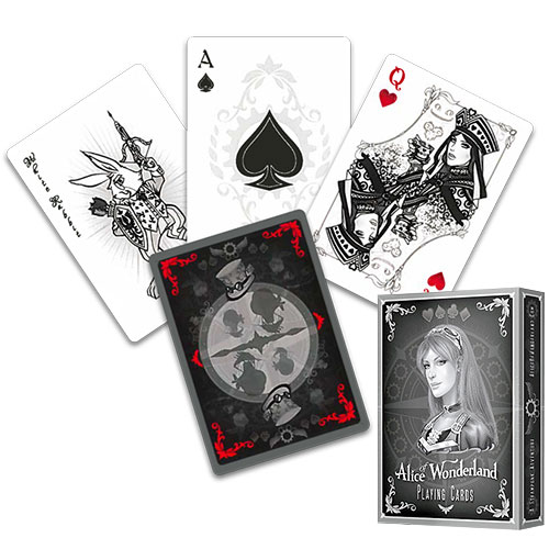 Alice Of Wonderland deck - Silver