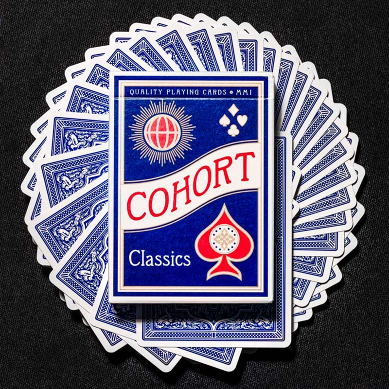 Cohorts Blue Playing Cards (ΣΗΜΑΔΕΜΕΝΗ)