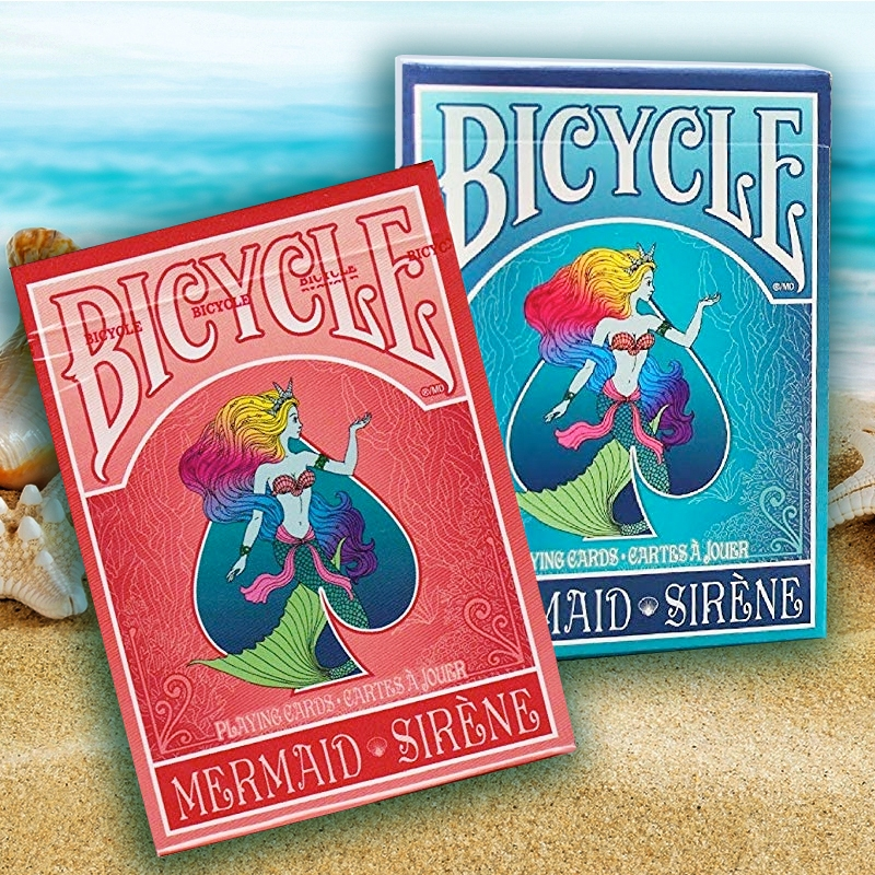 Bicycle - Mermaid Playing Cards