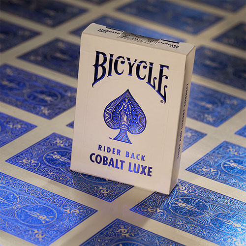 Bicycle - MetalLuxe Cobalt