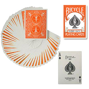 Bicycle - Poker deck - Orange back