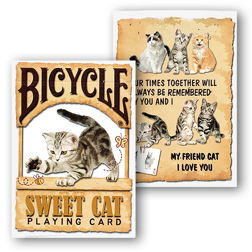 Bicycle - Sweet Cat Playing Cards