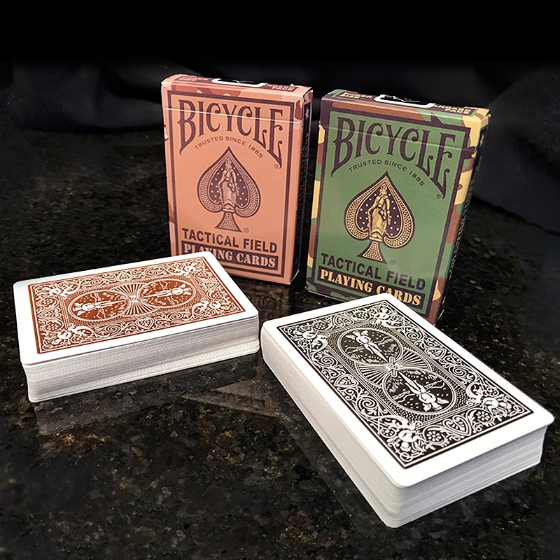 Bicycle - Tactical Field - 2 decks - Green/Brown