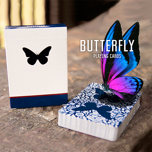 Butterfly Playing Cards Marked (Blue) ÓÇÌÁÄÅÌÅÍÇ