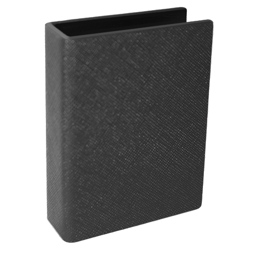 Card Clip leather - Black