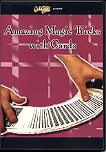 Amazing magic tricks with cards DVD