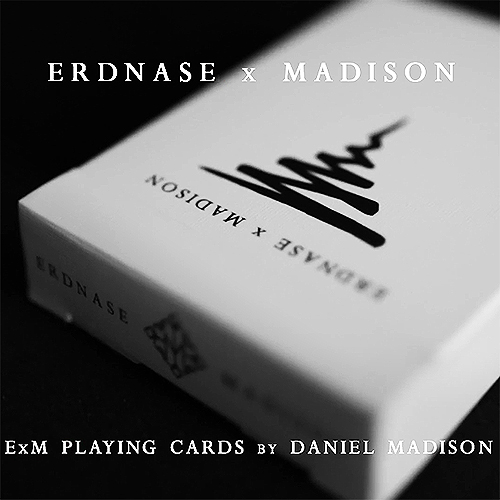 Erdnase x Madison Black Playing Cards
