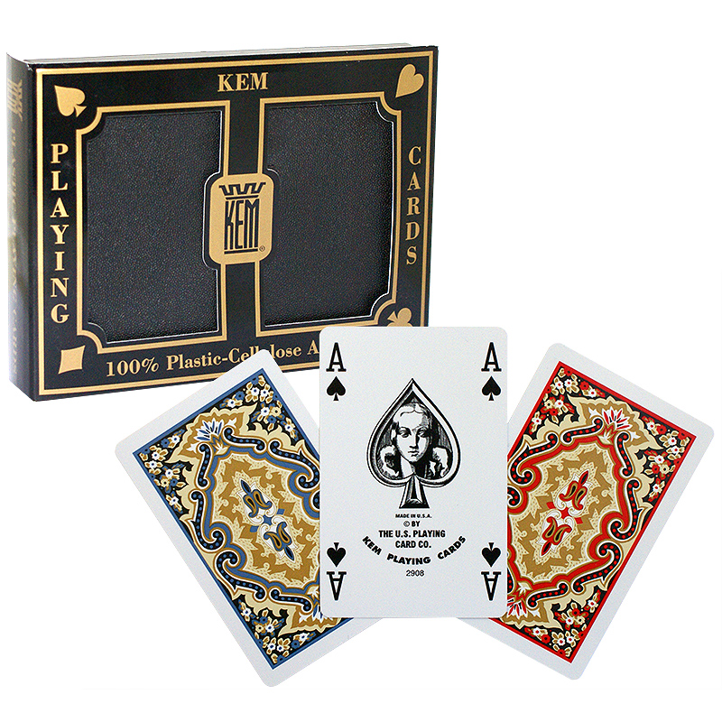 KEM - Poker size deck (2-ΤΡΑΠΟΥΛΕΣ set)