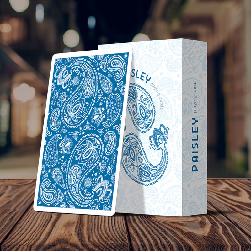 Paisley Playing Cards French Blue Edition (ÓÇÌÁÄÅÌÅÍÇ)