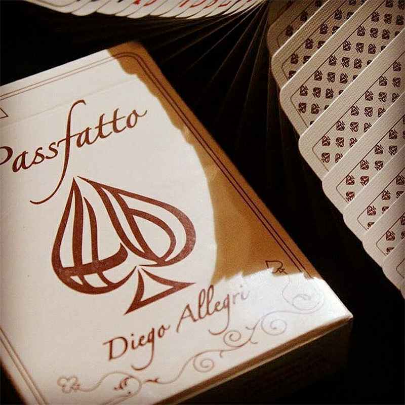 PassFatto Playing Cards by Diego Allegri