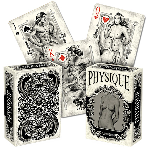 Physique playing cards