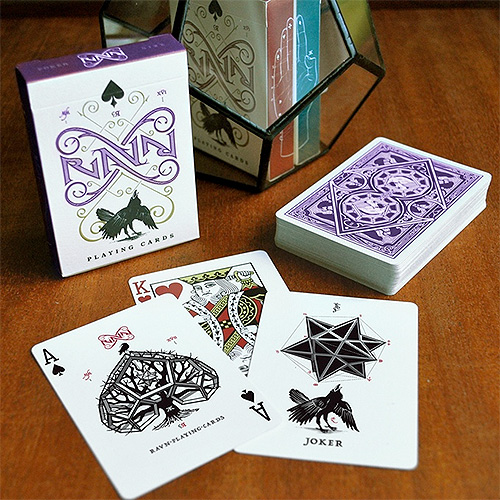 Ravn Purple Haze Playing Cards
