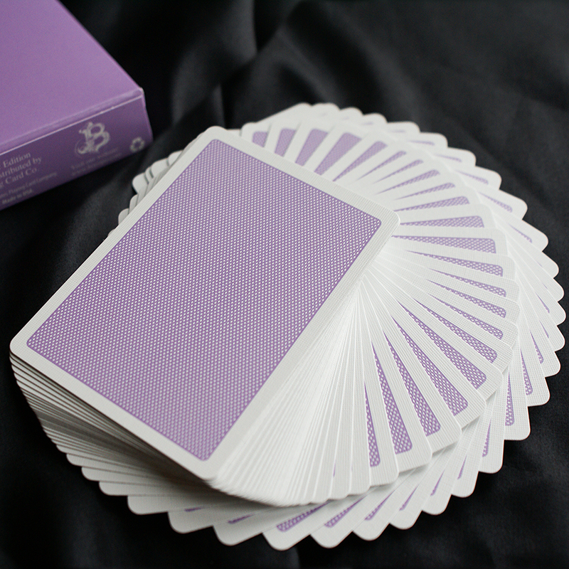 Steel Playing Cards - Purple