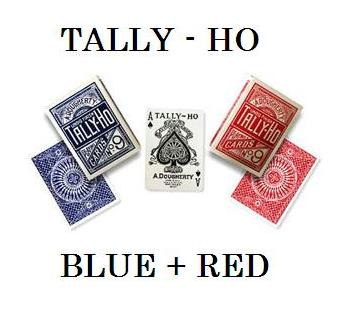 The TALLY-HO BUNGLE ! BLUE & RED !