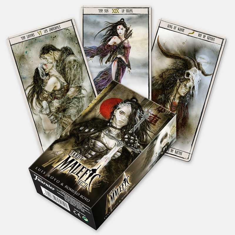 Tarot Deck - Malefic by Luis Royo - ΤΡΑΠΟΥΛΑ ΤΑΡΩ