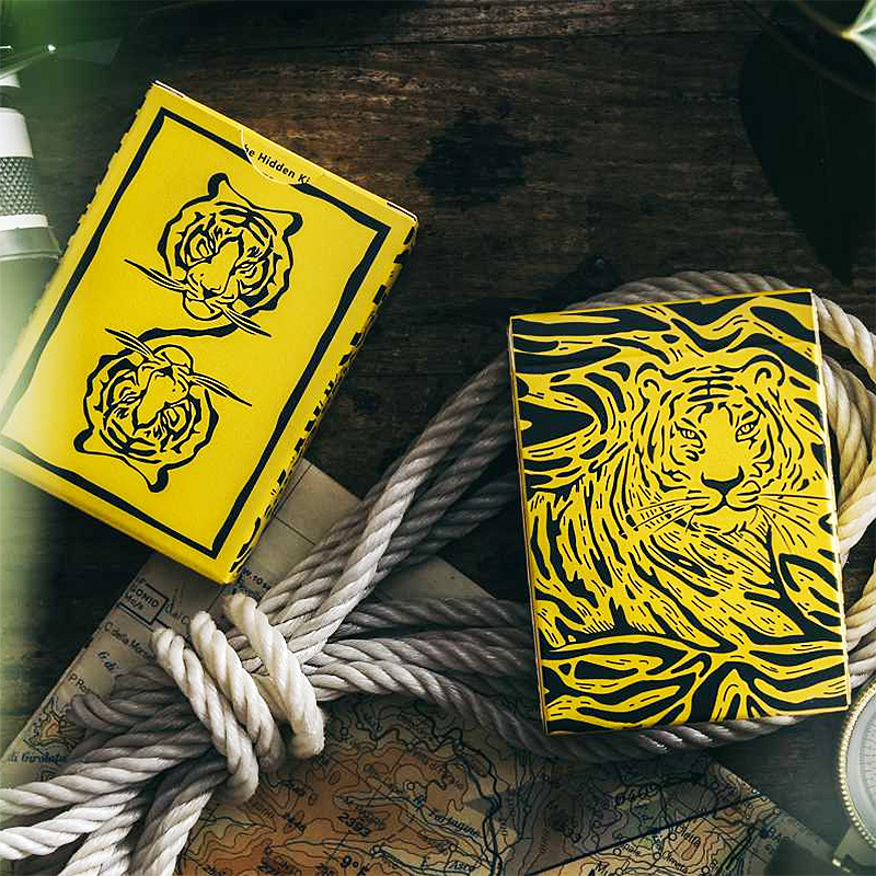 The Hidden King Playing Cards - Yellow