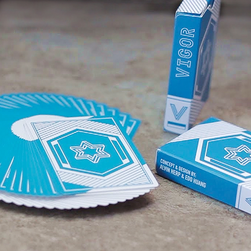 Vigor Playing Cards - Blue Edition