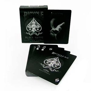 Bicycle Black Ghost Deck - 2nd Edition - Poker Size