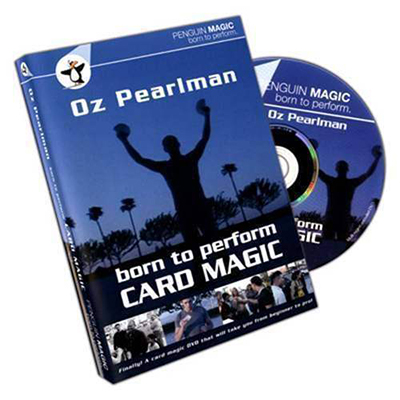 Born to Perform Card Magic with Oz Pearlman