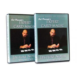 Sal Piacente's Expert Card Magic Lecture Notes - The 2 DVDSet