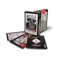 Bicycle Black Tiger Deck - (Red Pips)